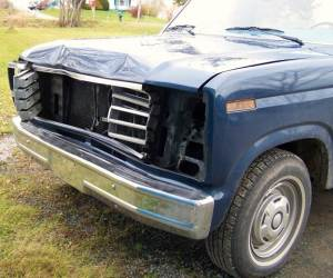 Tibert, Diane Lynn 1986 Truck deer hit 02